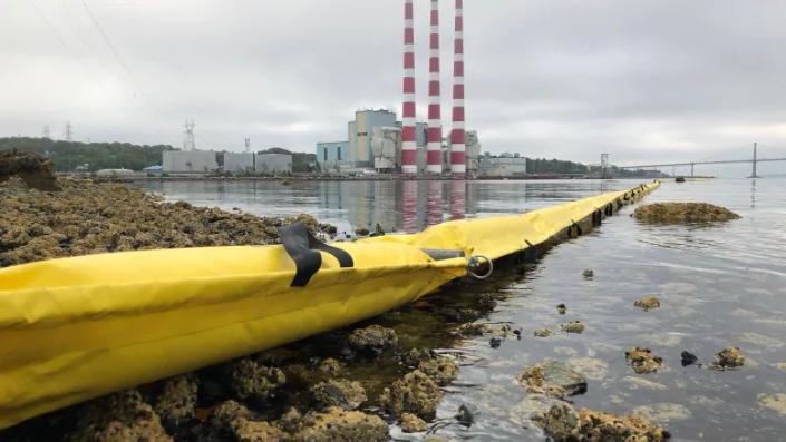 Nova Scotia Tuft Cove oil spill