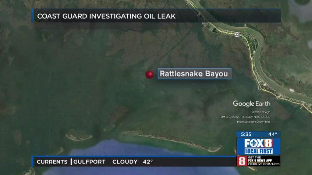 Rattlesnake Bayou Oil Spill